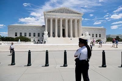 U.S. Supreme Court. (Xinhua/Ting Shen/IANS)