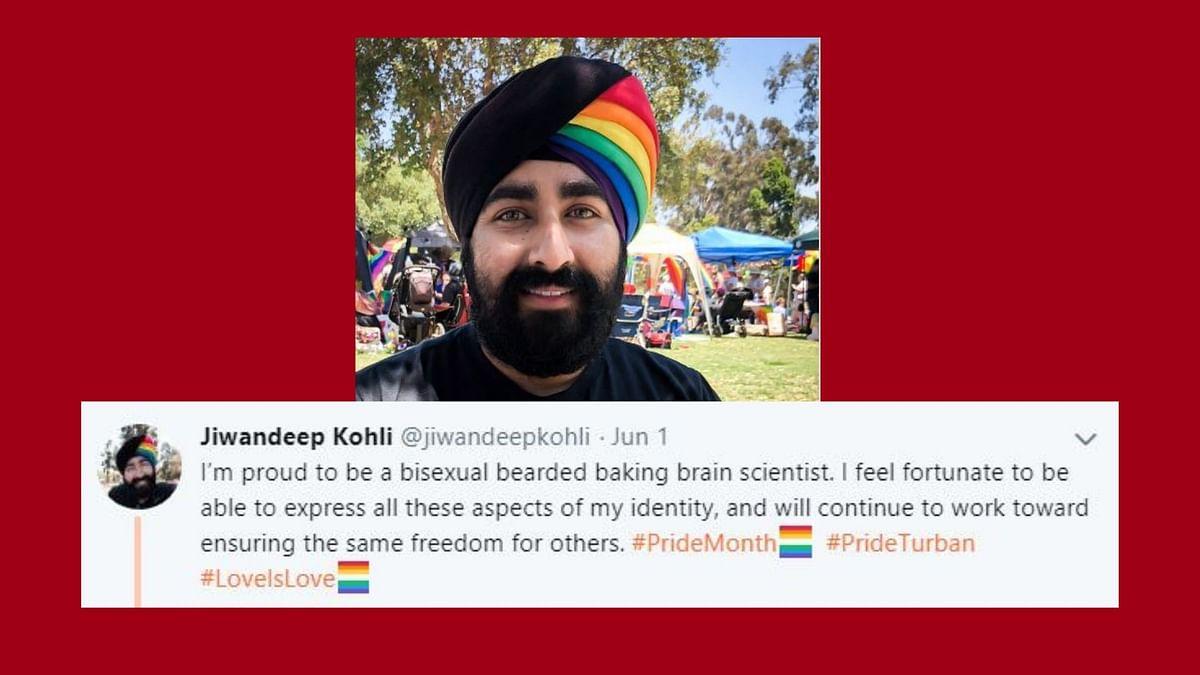 Sikh Man Wears Rainbow Turban, Kick-starts Pride Month