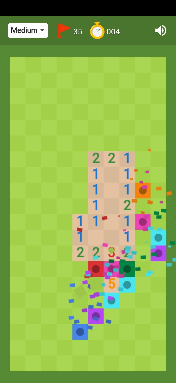 Minesweeper gameplay