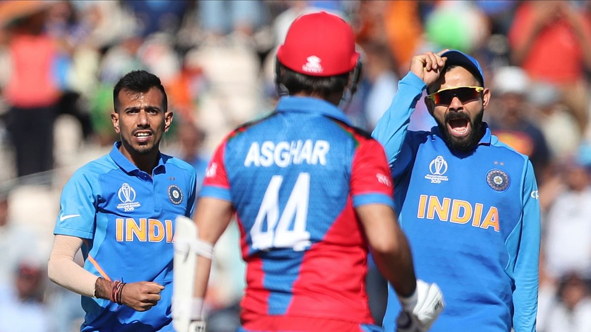 Shami Picks World Cup Hat-trick as India Scrape Past Afghanistan