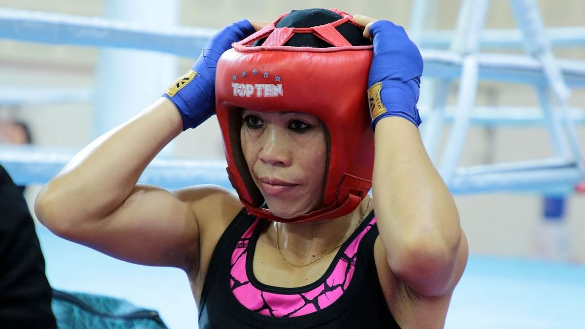 Six-time world champion MC Mary Kom said she plans to hang her gloves after winning the elusive gold medal at Tokyo.