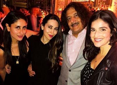 Actress Kareena Kapoor Khan with her sister-actress Karisma Kapoor partied away at a club in London. (Photo: Instagram/therealkarismakapoor)