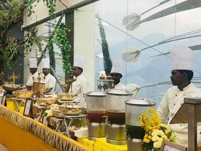 Uttarakhand Chief Minister attends Guptas' weddings at Auli