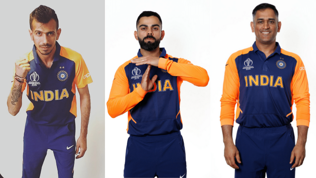 First Photos! Team India Don Orange Jerseys Before England Game
