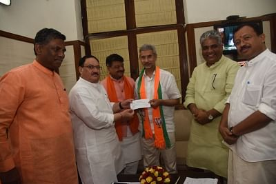 New Delhi: External Affairs Minister S. Jaishankar joins the BJP in the presence of the party