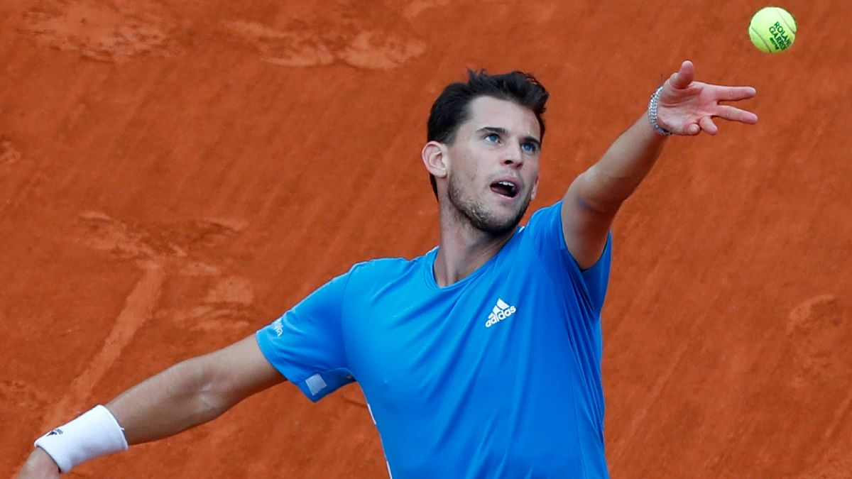Thiem had played four successive days to reach Sunday's final.