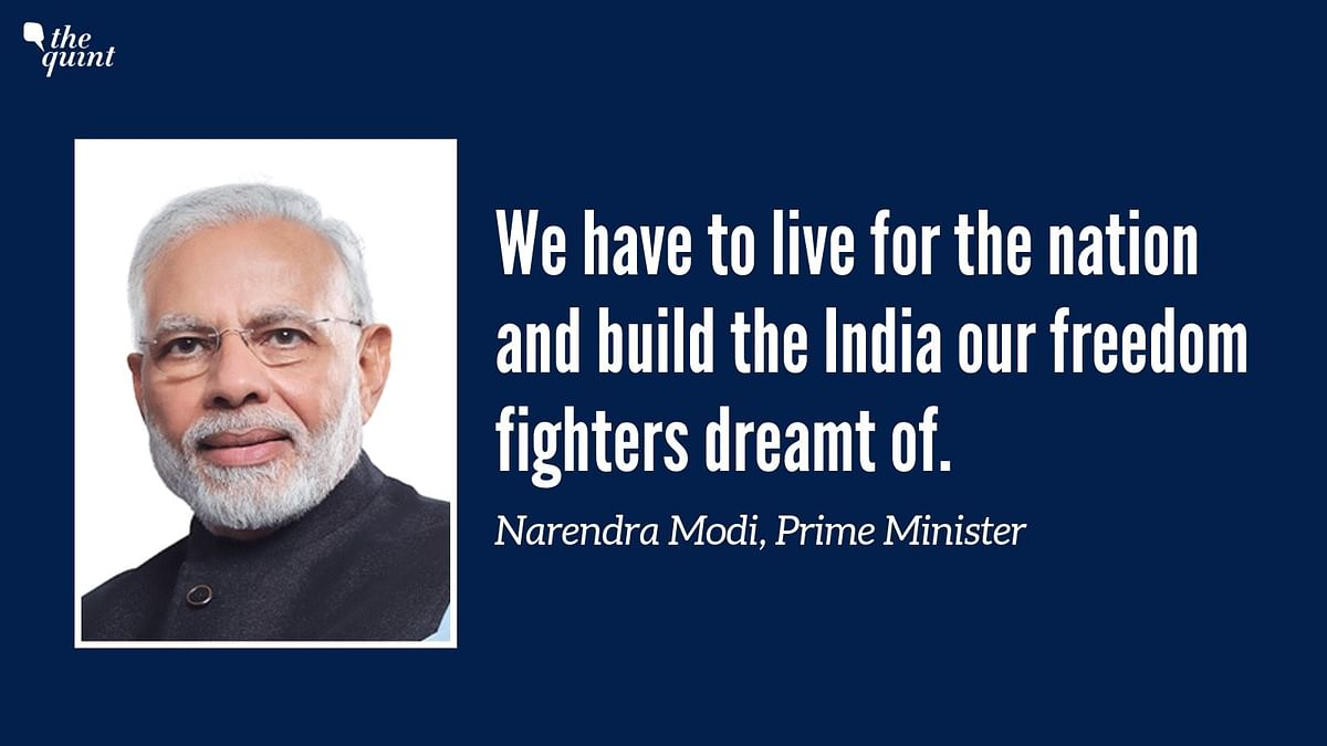 'Have to Fulfil the Dream of Strong, Safe, Inclusive Nation': Modi