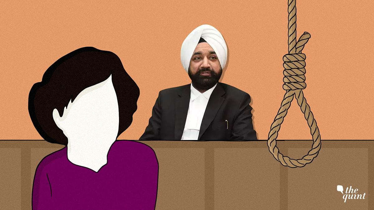 Judge Tejwinder Singh (centre) did not sentence any of the men convicted in the Kathua rape and murder case to death.
