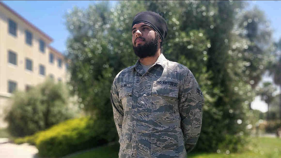 Sikh Airman Allowed to Keep Turban, Beard by US Air Force