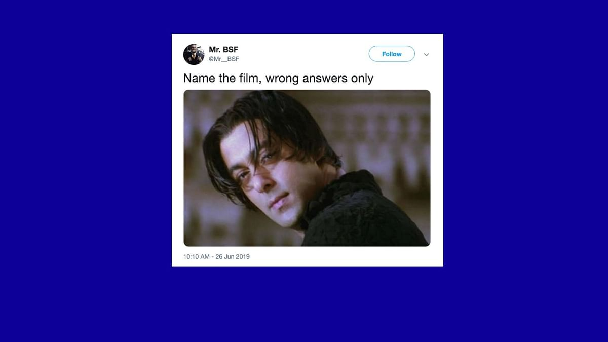 'Name the film, wrong answers only' meme goes viral on social media once again.