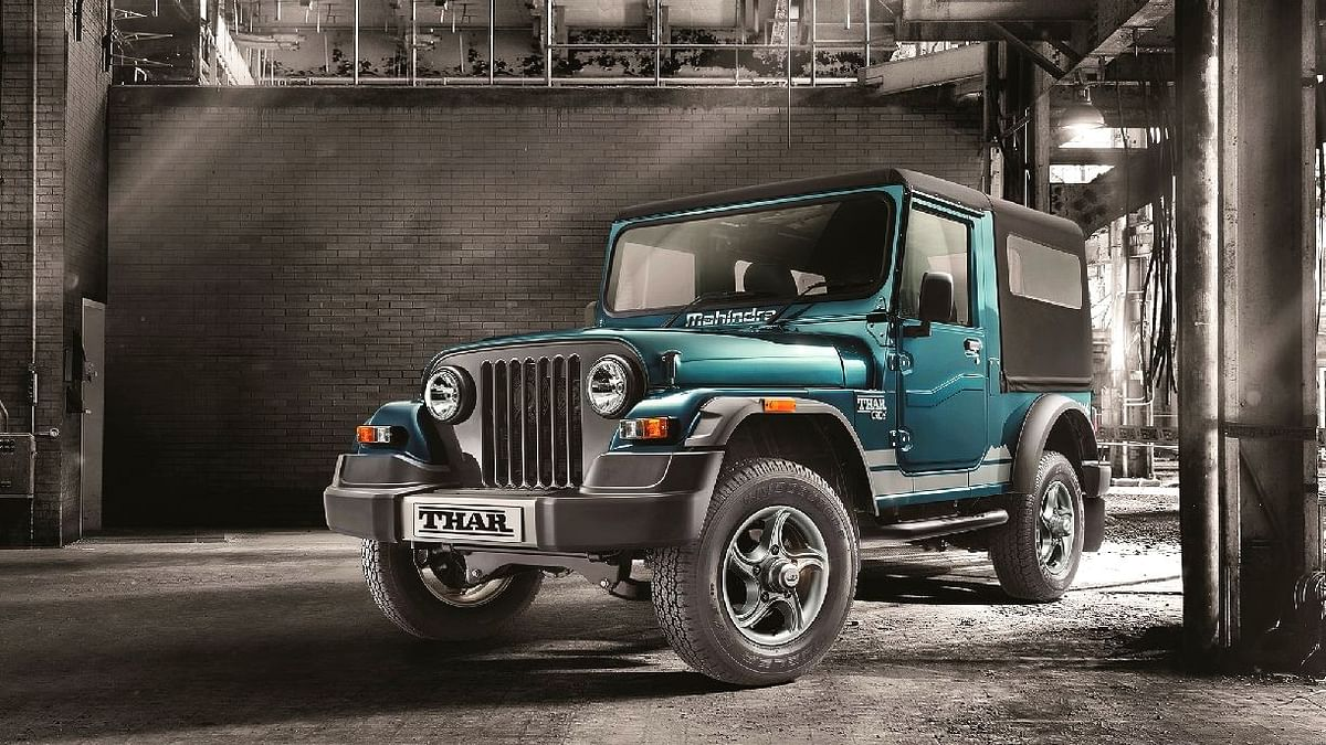 Only 700  Units of the Mahindra Thar Left to Be Sold