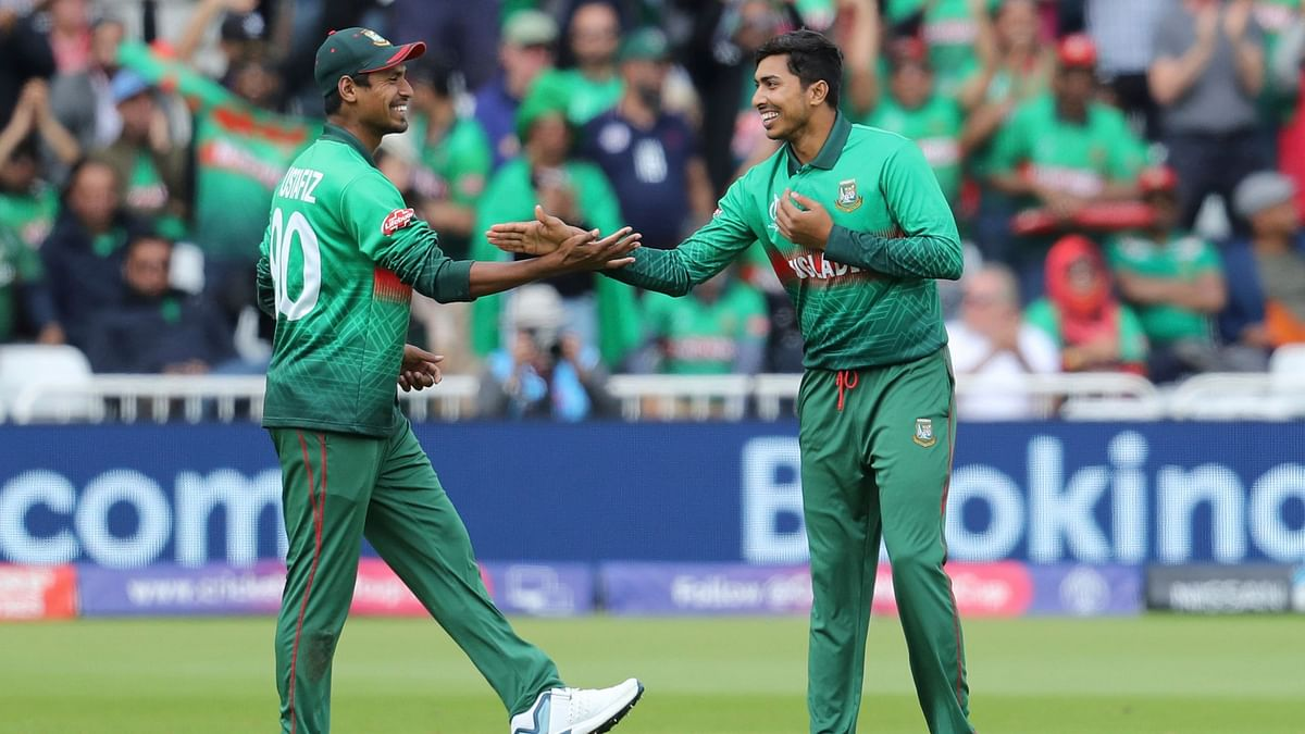 For Bangladesh, Soumya Sarkar was the pick of the bowlers, picking 3 for 58 in his 8 overs.