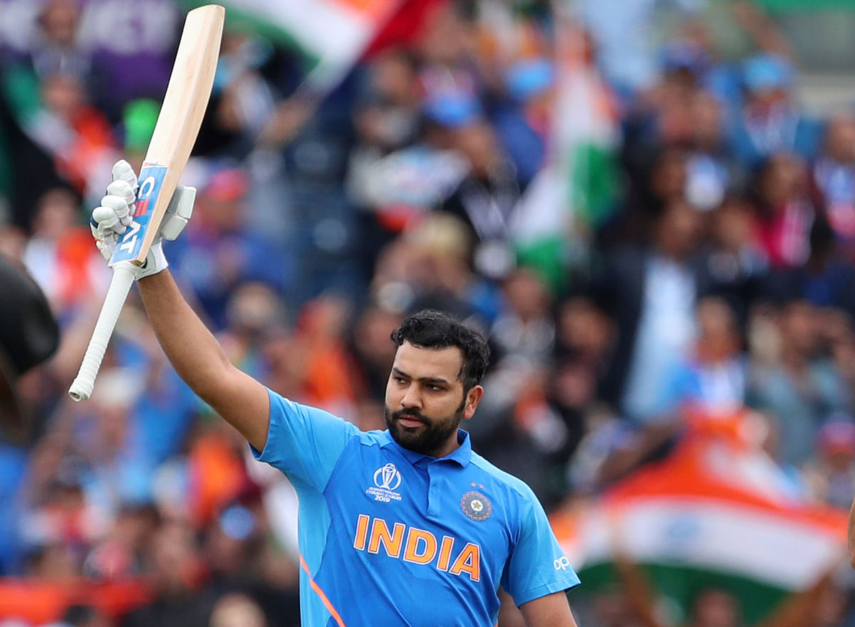 Rohit Sharma scored his second century of this ICC World Cup.