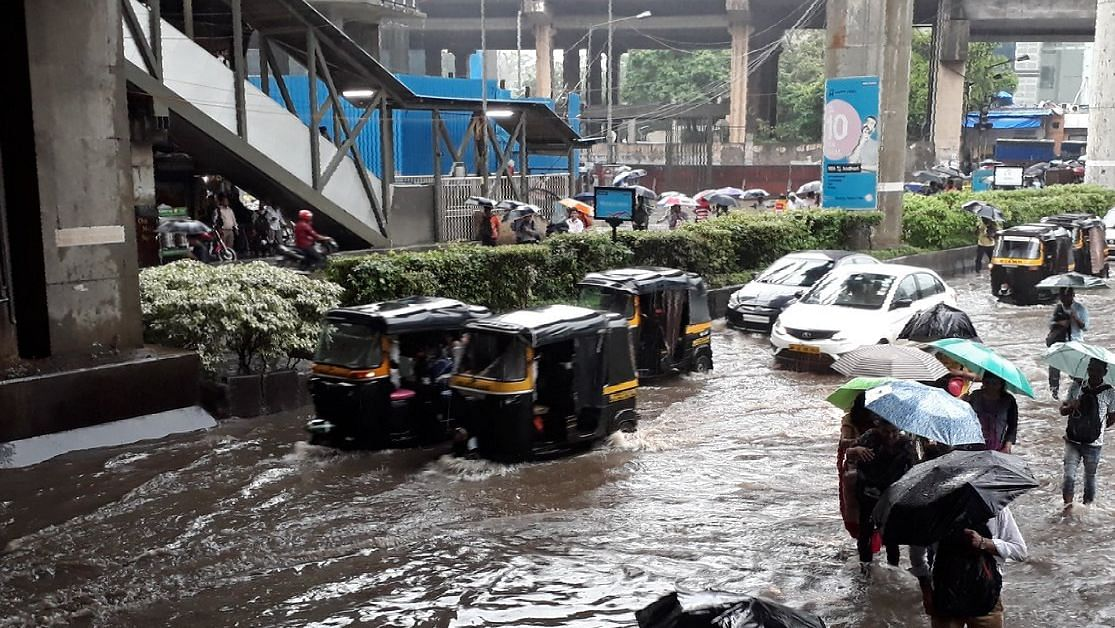 Social media was buzzing with both excitement and worry as #MumbaiRains became a top Twitter trend in India.