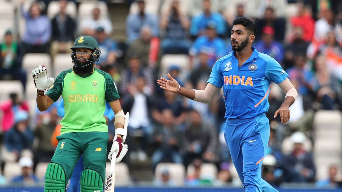 Bumrah picked up two wickets in a lively opening spell.