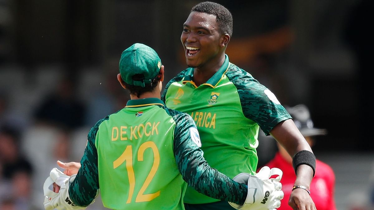 SA Pacer Lungi Ngidi Declared Fit to Play Against New Zealand