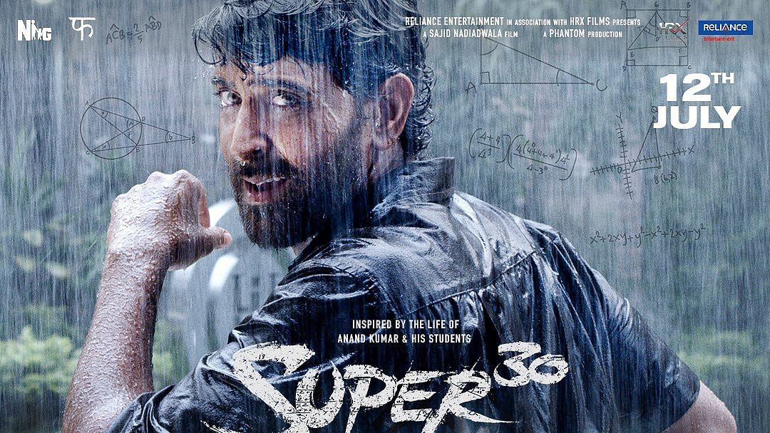 Hrithik Roshan plays the role of Anand Kumar in <i>Super 30</i>.