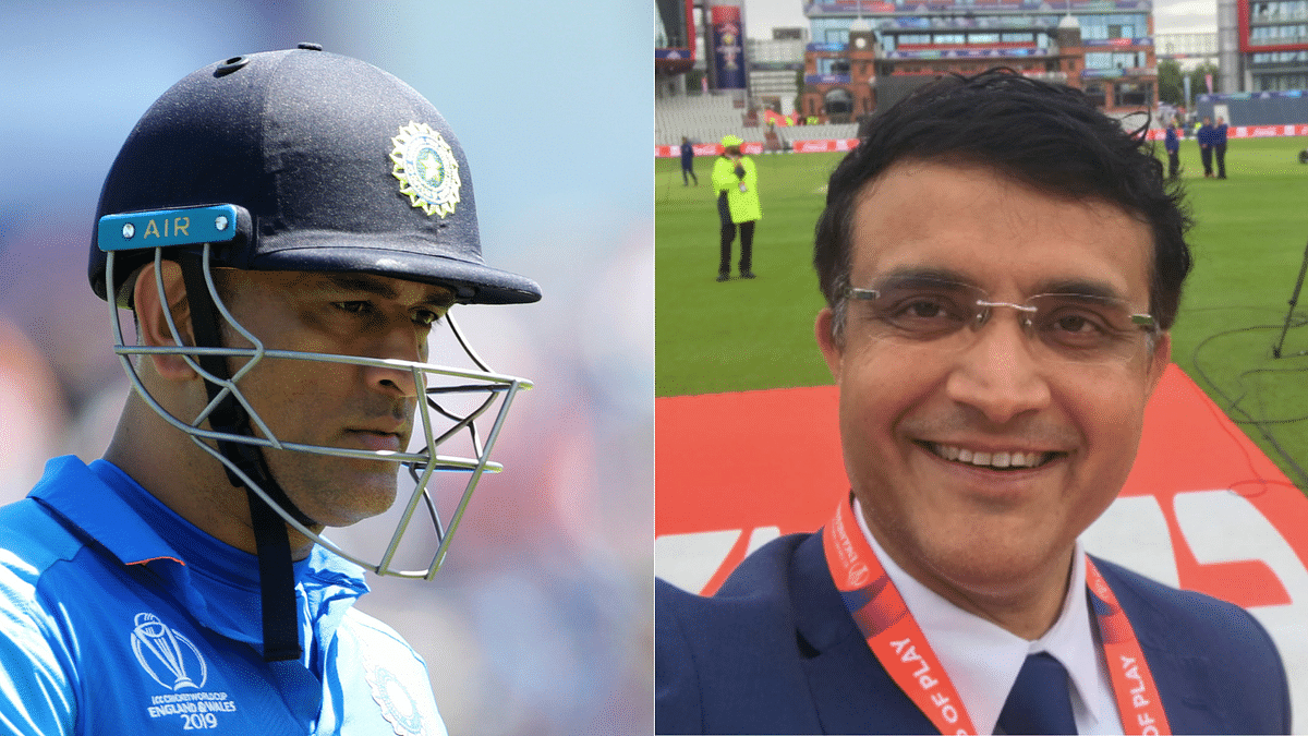 Sourav Ganguly Bats for MS Dhoni, Says He Has Ability to Succeed
