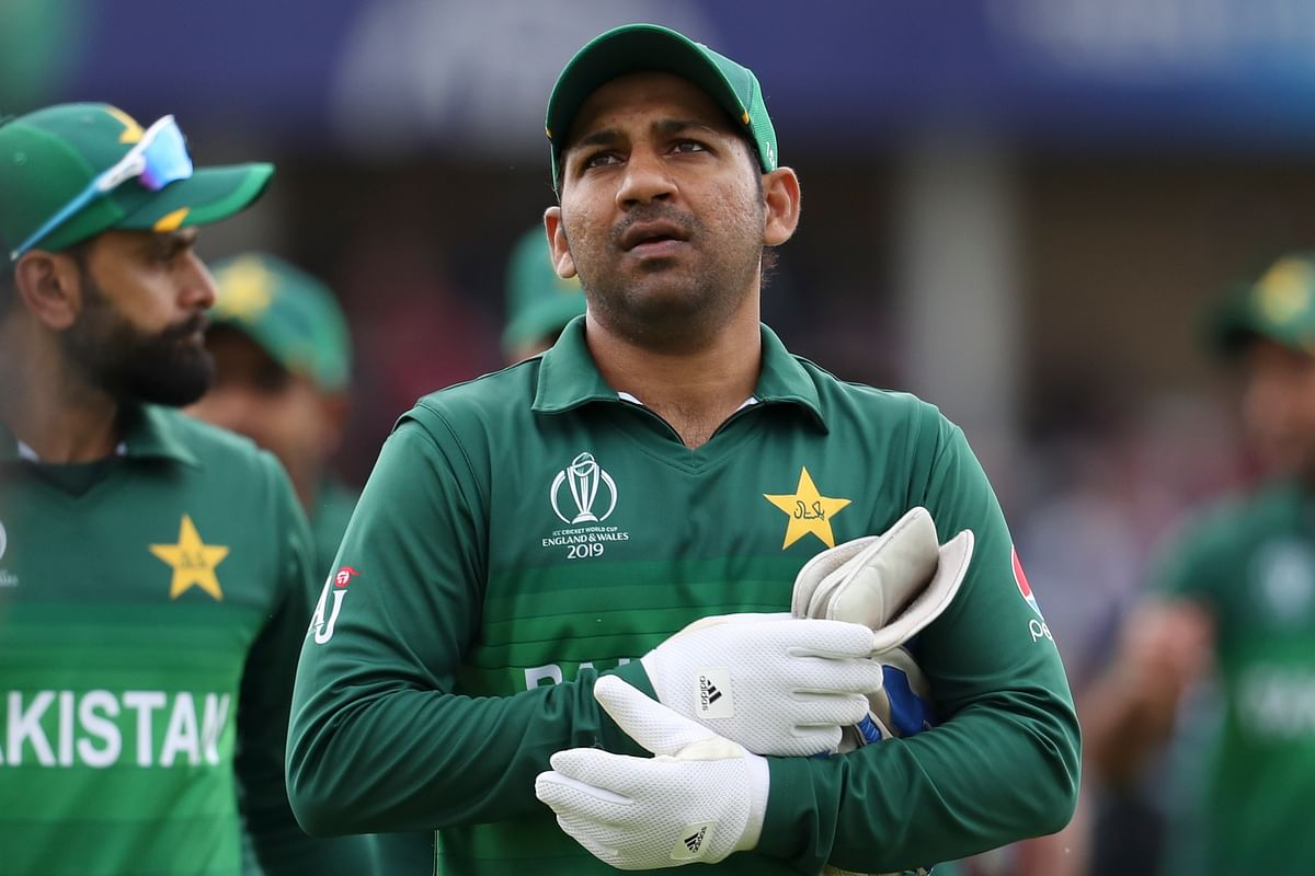 There is criticism that Sarfaraz Ahmed cannot quite hold his place in the side purely on merit.