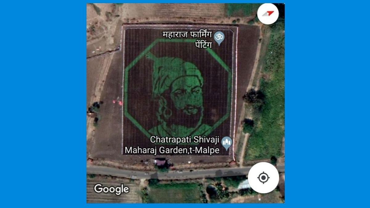 Artwork of Chhatrapati Shivaji Seen On Google Maps Goes Viral