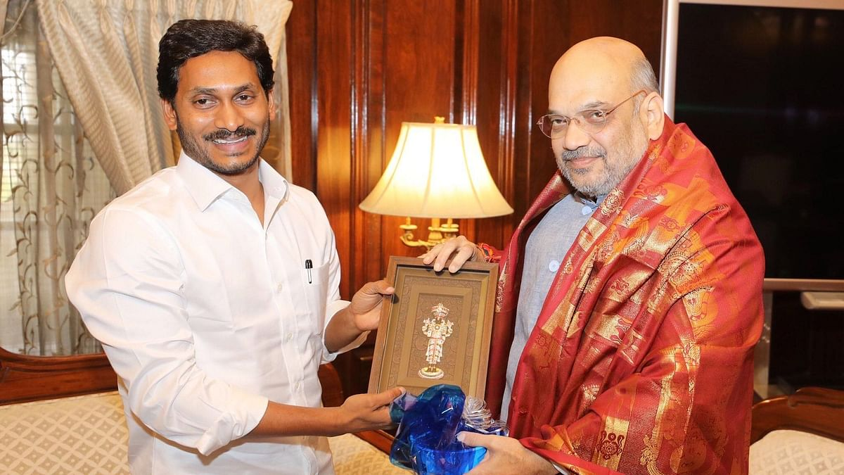 AP CM Requests Shah to 'Soften PM's Heart' on Spl Category Status