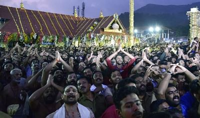 The Congress-UDF opposition in Kerala had alleged that the Sabarimala decision had 'created wounds in the public'. Image used for representation.