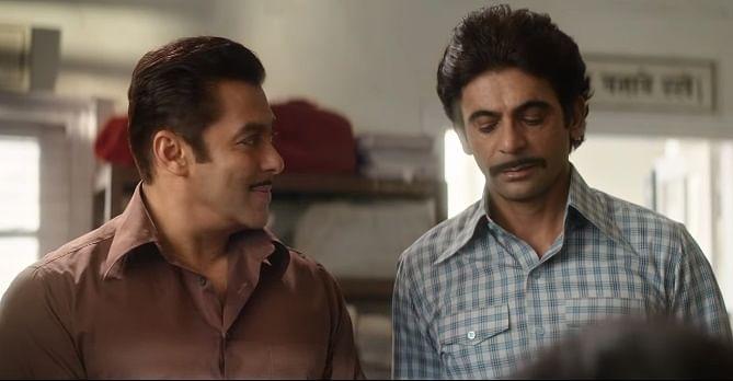 Sunil Grover plays Salman Khan's best friend in <i>Bharat</i>.