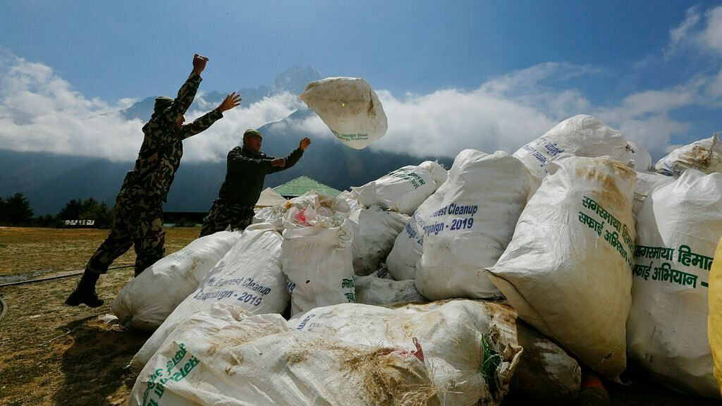 11,000 kg Garbage Removed from Mt Everest in Two-Months