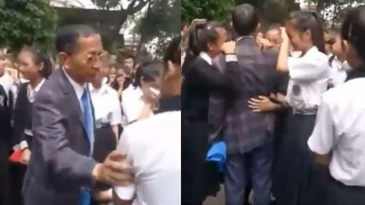 Mizoram School Students' Teary Farewell to Principal Goes Viral