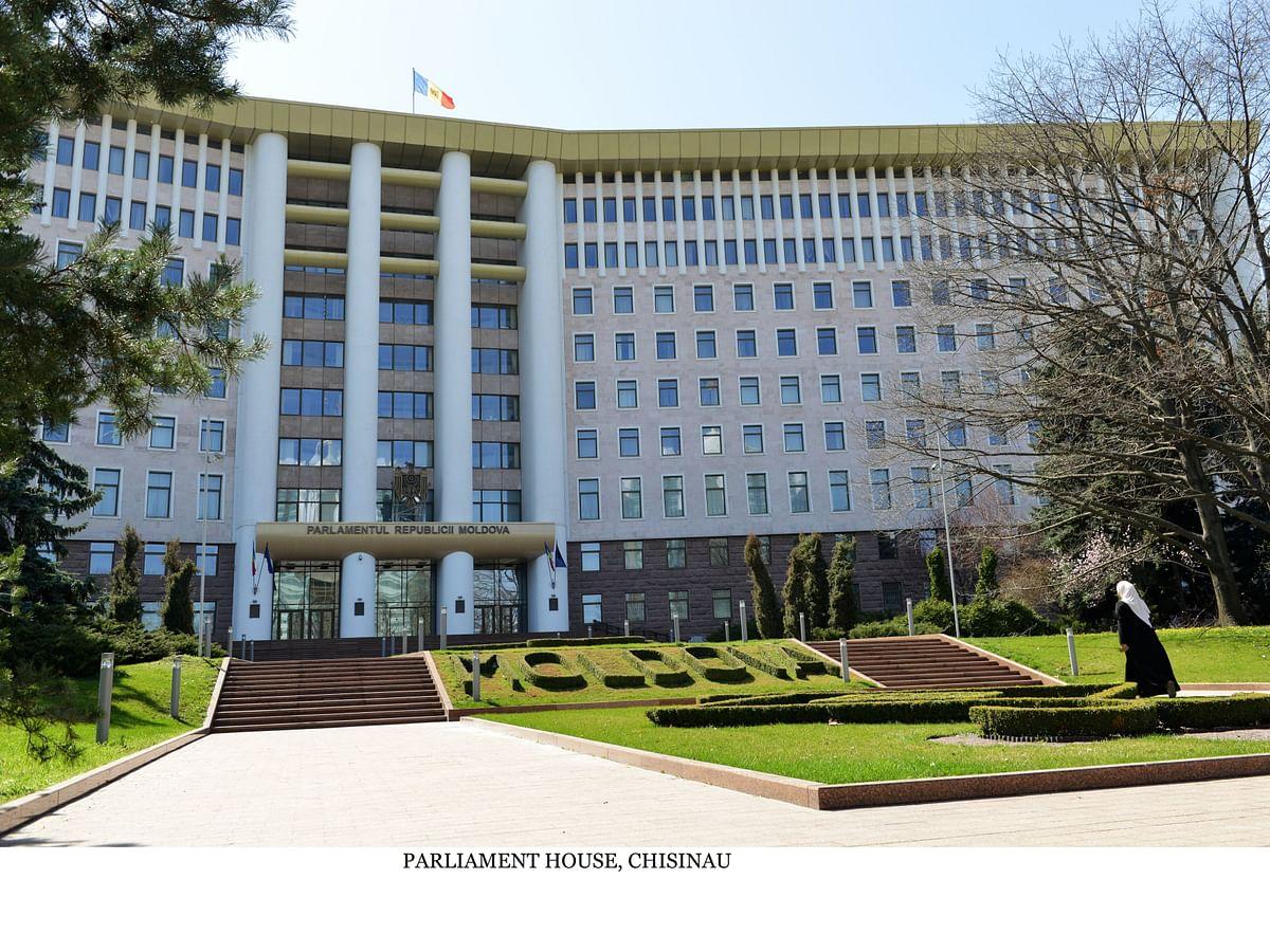 Parliament House, Chisinau
