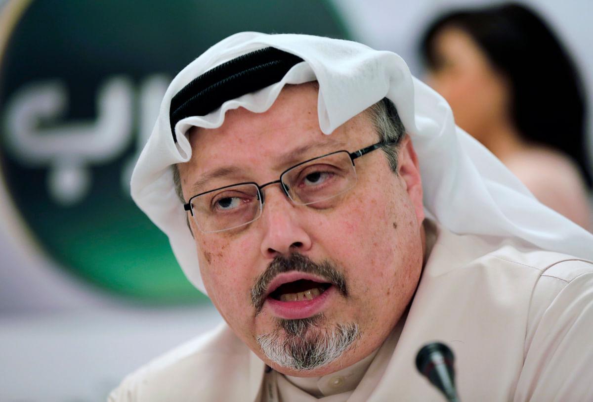 File photo of slain journalist Jamal Khashoggi.