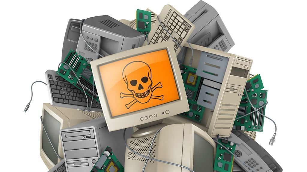 Image of e-waste used for representational purposes.