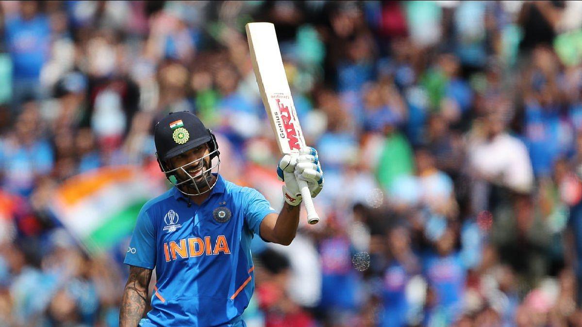 Shikhar Dhawan notched up his 17th ODI ton