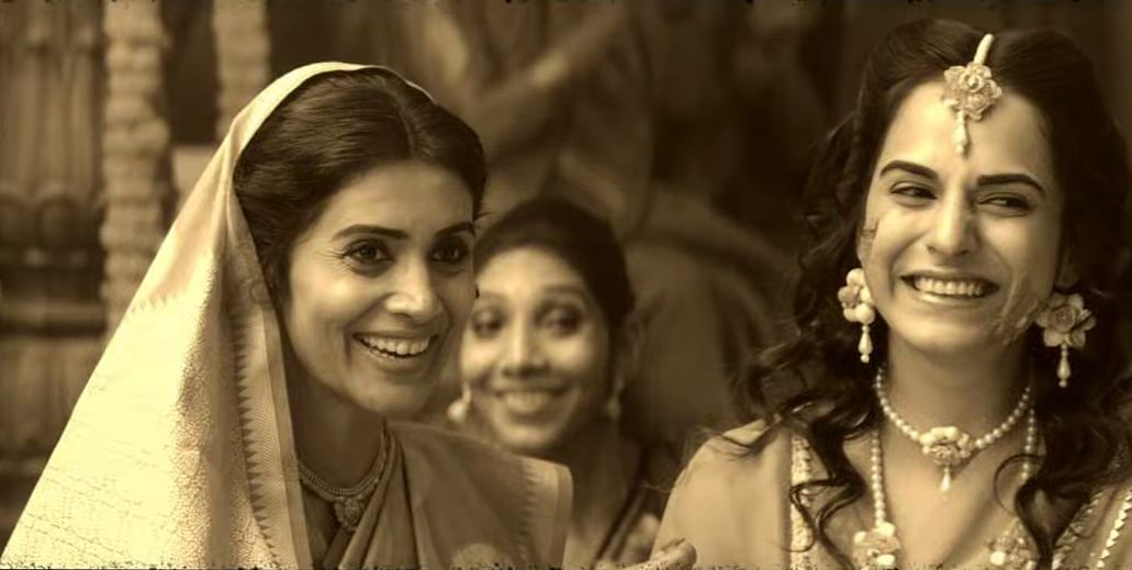 Sonali Kulkarni is a decade younger than Salman, who plays her son.