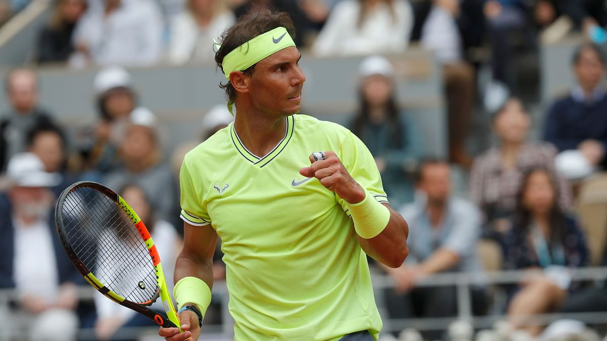 Nadal became the first player, man or woman, to win the same Slam 12 times