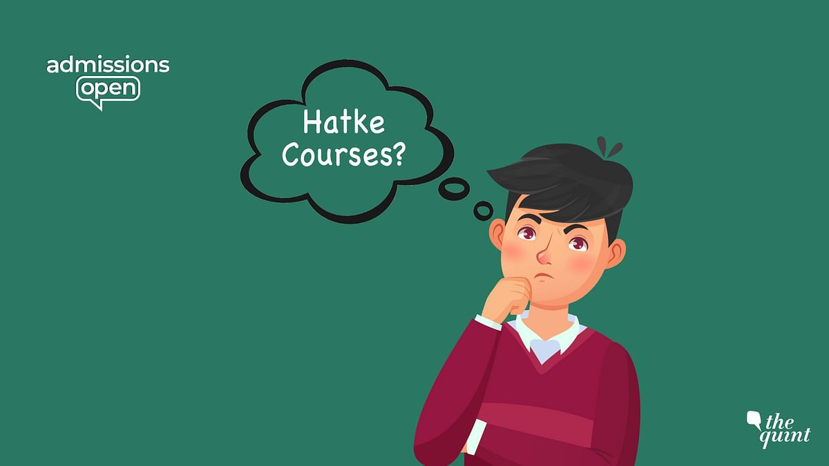Looking Beyond 'Mainstream' Courses? Here are Some 'Hatke' Options