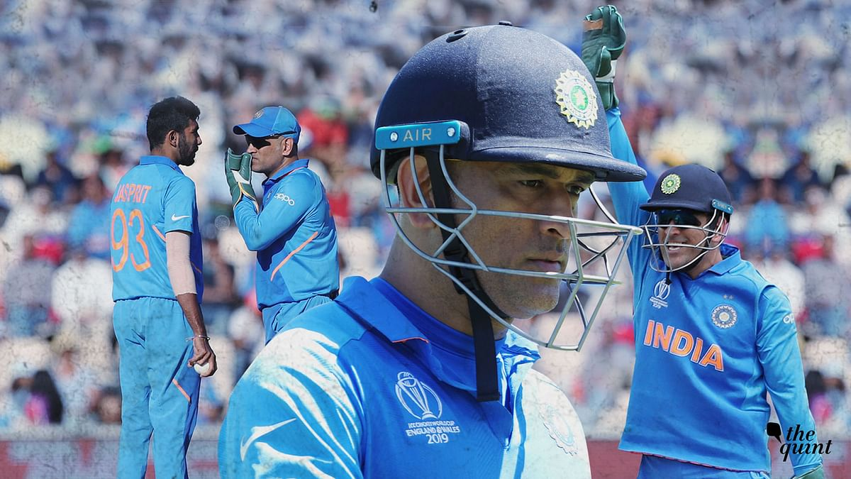 MS Dhoni has scored just 90 runs in 4 innings this World Cup but Sandeep Patil writes it's no reason for concern.