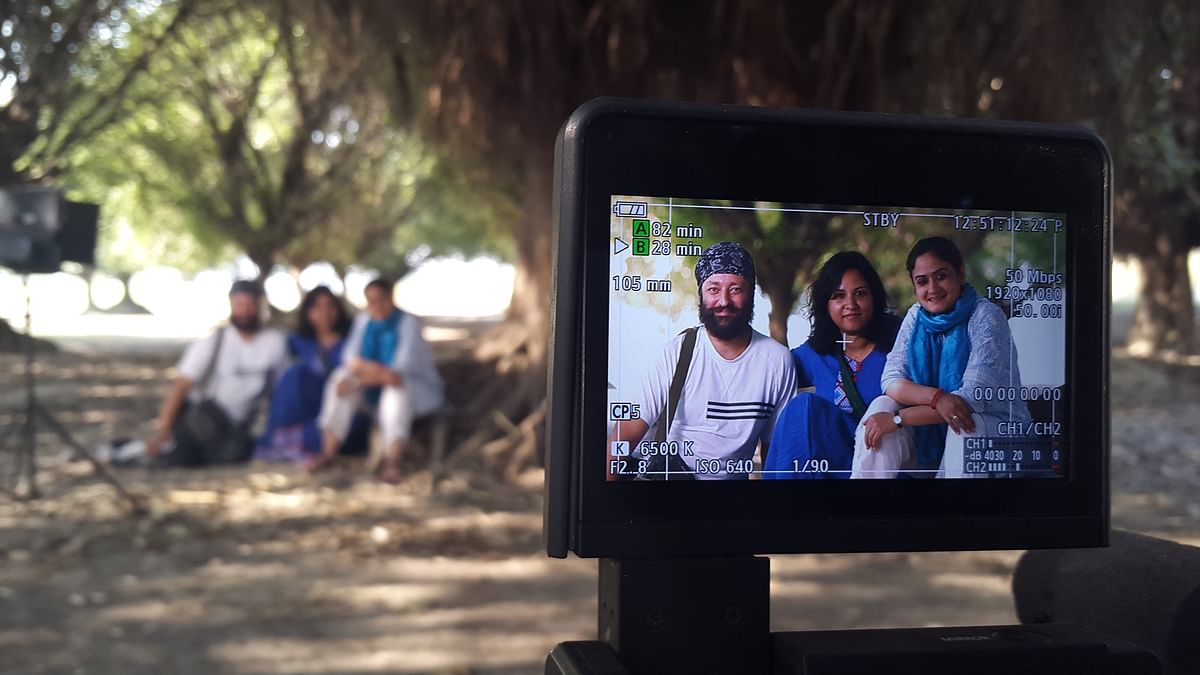The crew behind the 2015 documentary <i>Voices Under the Mango Tree</i>, which is based on the Badaun case.