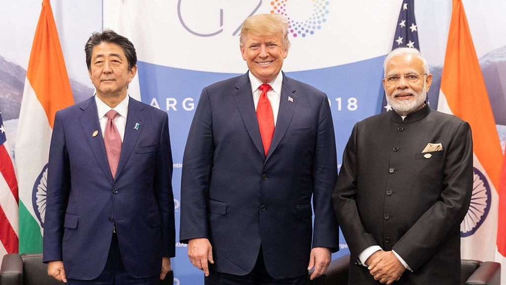 US, Aus, India, Japan Hold Talks on  Free & Inclusive Indo-Pacific
