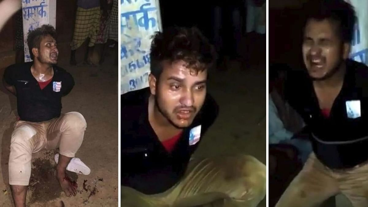 The victim, Shams Tabrez (24), was caught by a mob on 18 June, tied to a pole and was beaten for several hours.