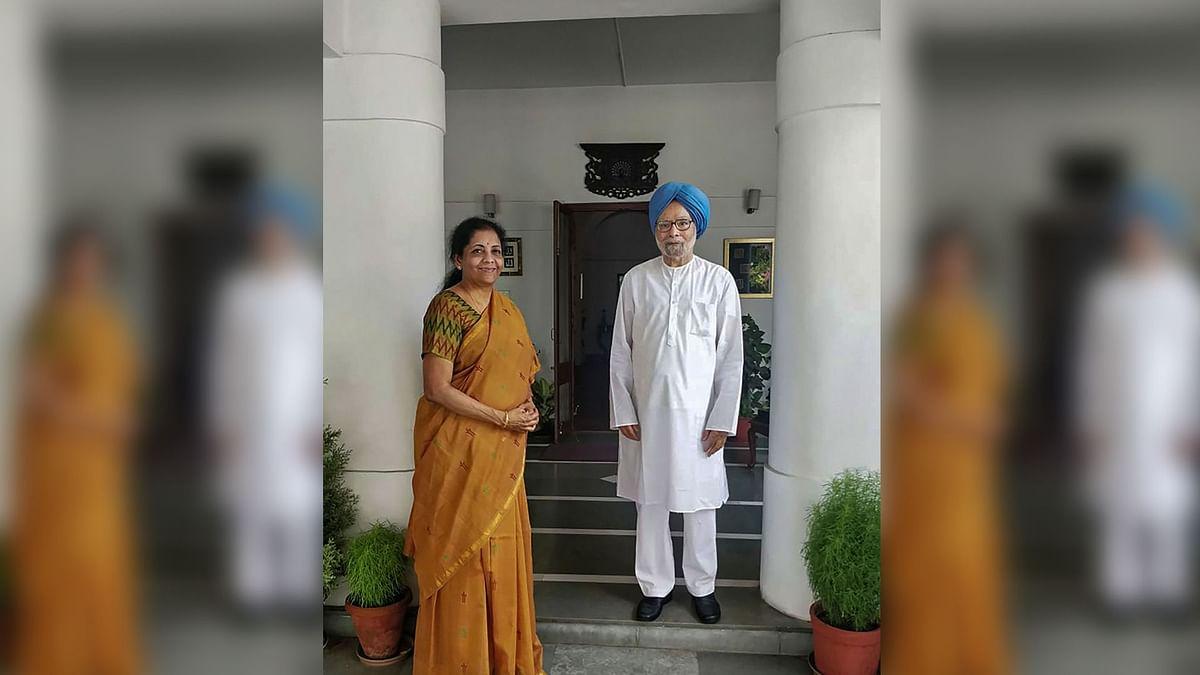 Nirmala Sitharaman Meets Former PM Manmohan Singh Ahead of Budget