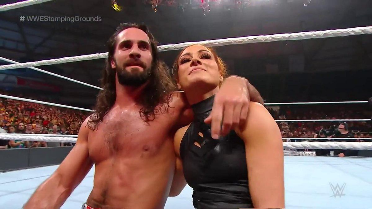 Seth Rollins and Becky Lynch stole  the show in the main event of WWE Stomping Grounds 2019.