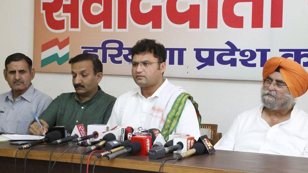 Haryana Cong Chief Faces Flak at Party Meeting, Says 'Shoot Me'