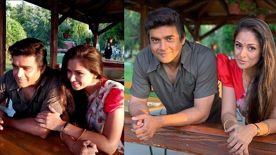 Madhavan and Simran Reunite After 17 Years for 'Rocketry'
