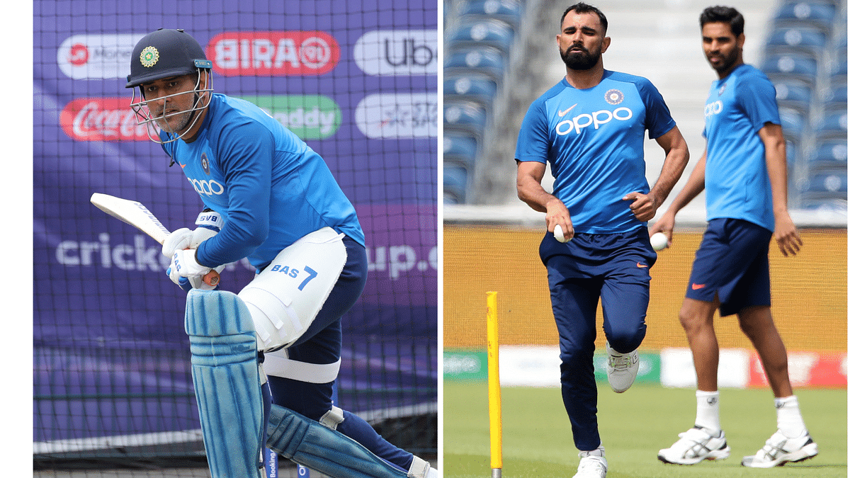 Dhoni Perfects Sweep Shot, Kumar Bowls to Full Tilt in Practice