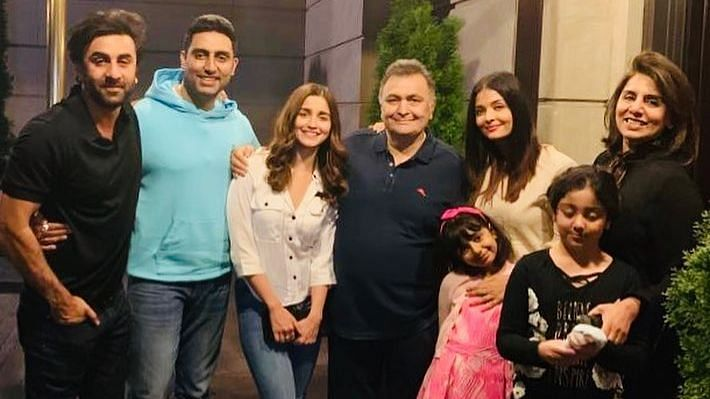 The Kapoor and Bachchan families.