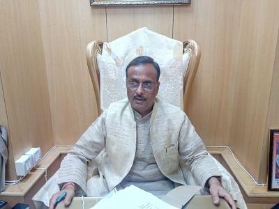 New Delhi: Uttar Pradesh Deputy Chief Minister Dinesh Sharma. (Photo: IANS)