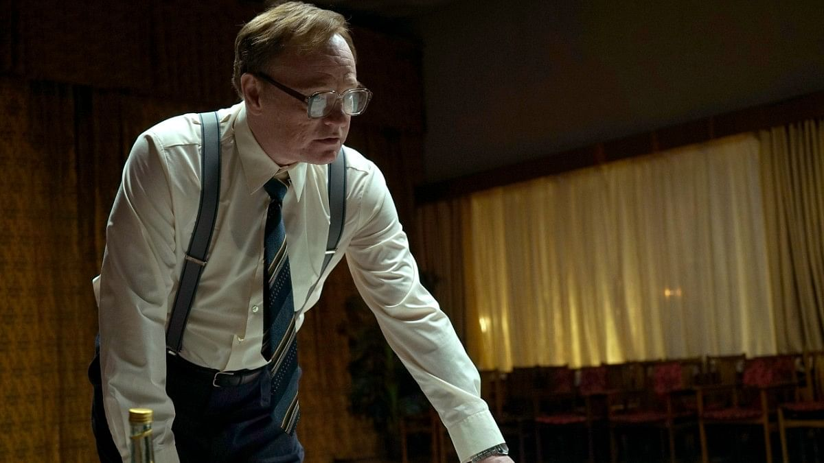 Jared Harris as Prof Legasov in <i>Chernobyl</i>.