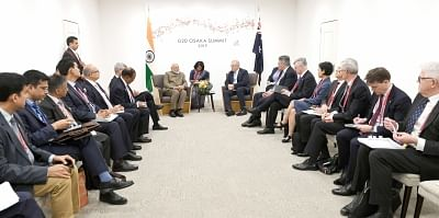 PM asks G20 nations to join global coalition against disasters
