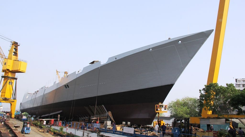 1 Dead in Fire on Under-Construction Warship INS Visakhapatnam